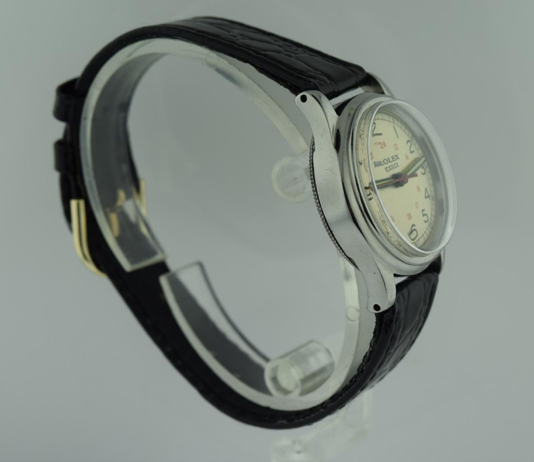 Rolex Essex Stainless Steel 24 Hour Watch, 1940s - 4