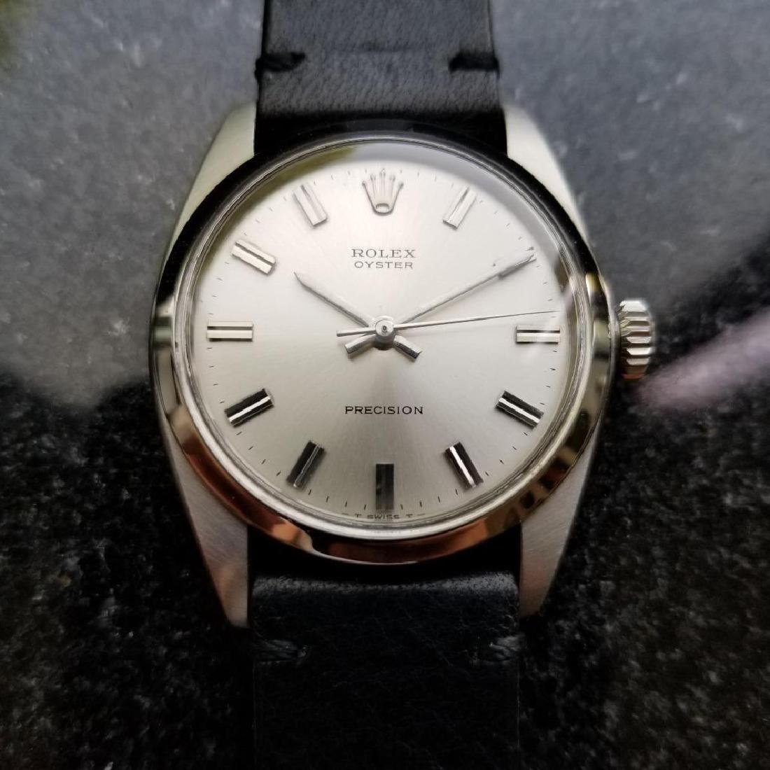 Rolex Vintage Oyster Precision 1963 Manual 6426 Mens - 3