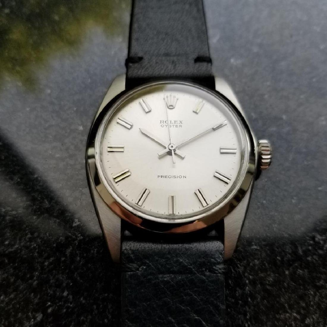 Rolex Vintage Oyster Precision 1963 Manual 6426 Mens - 4