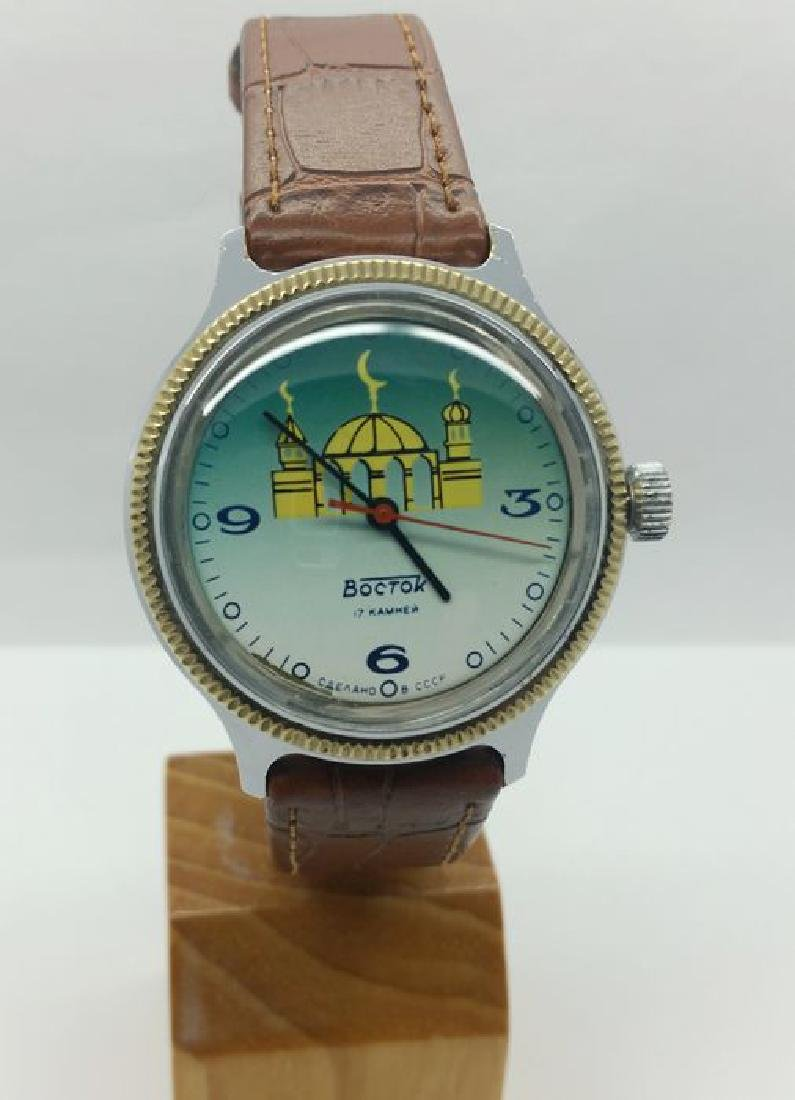 Vostok figured dial vintage wristwatch - 3