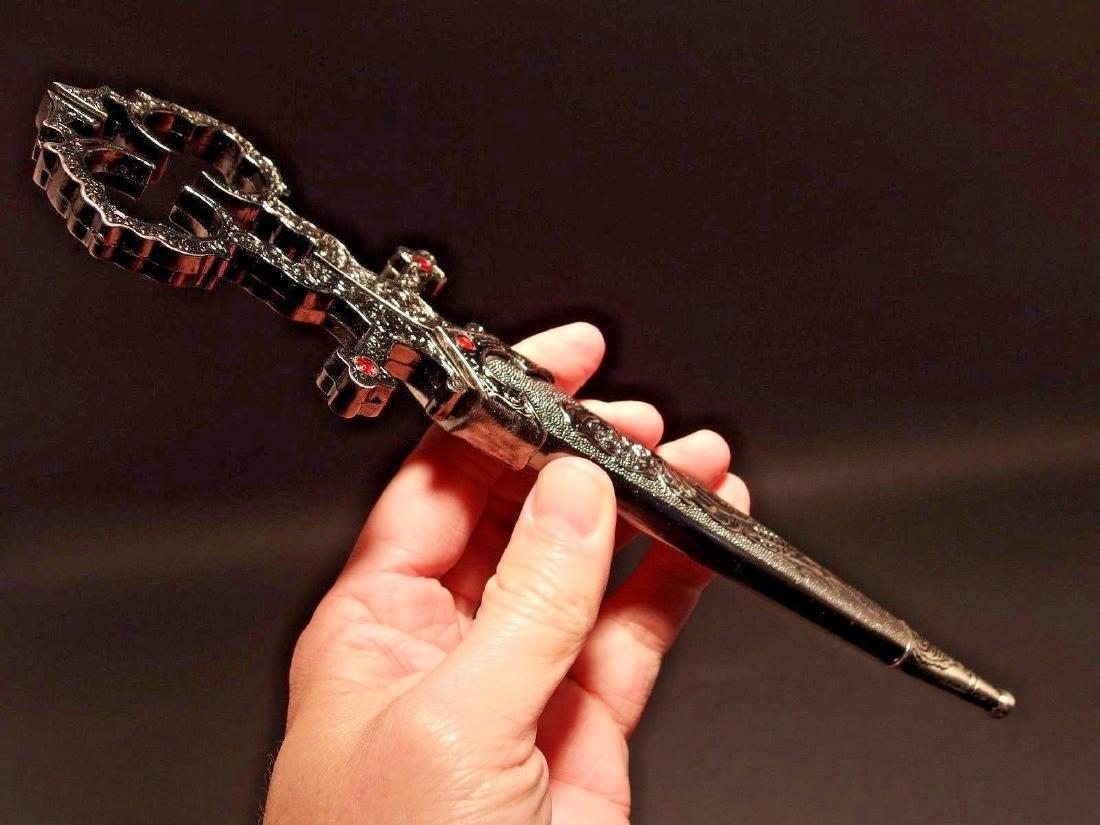 Medieval Dagger Scissors w Scabbard - 5