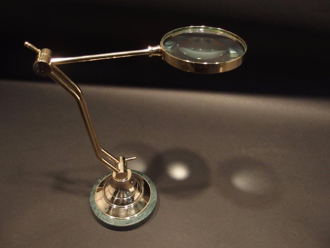 Adjustable Table top Arm Magnifying glass - 4