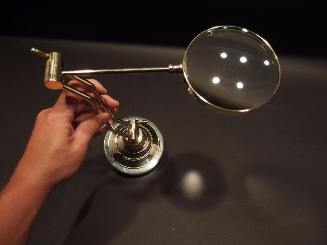Adjustable Table top Arm Magnifying glass - 5