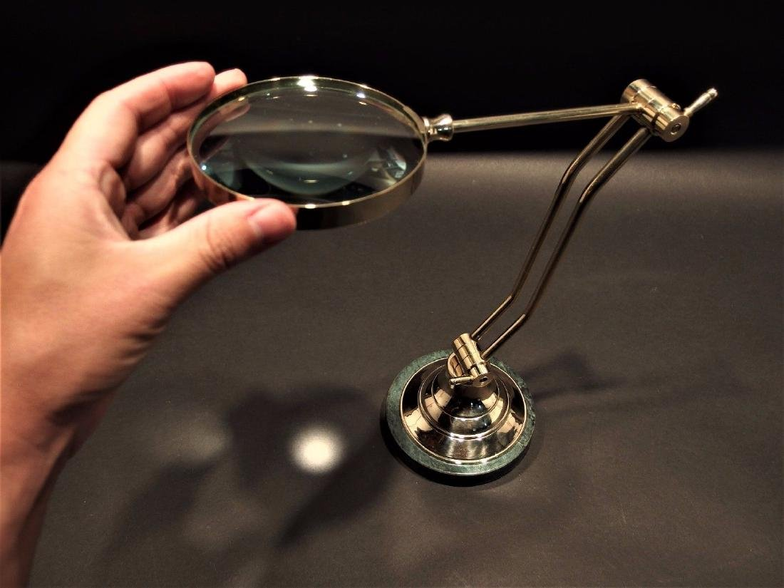 Adjustable Table top Arm Magnifying glass - 7