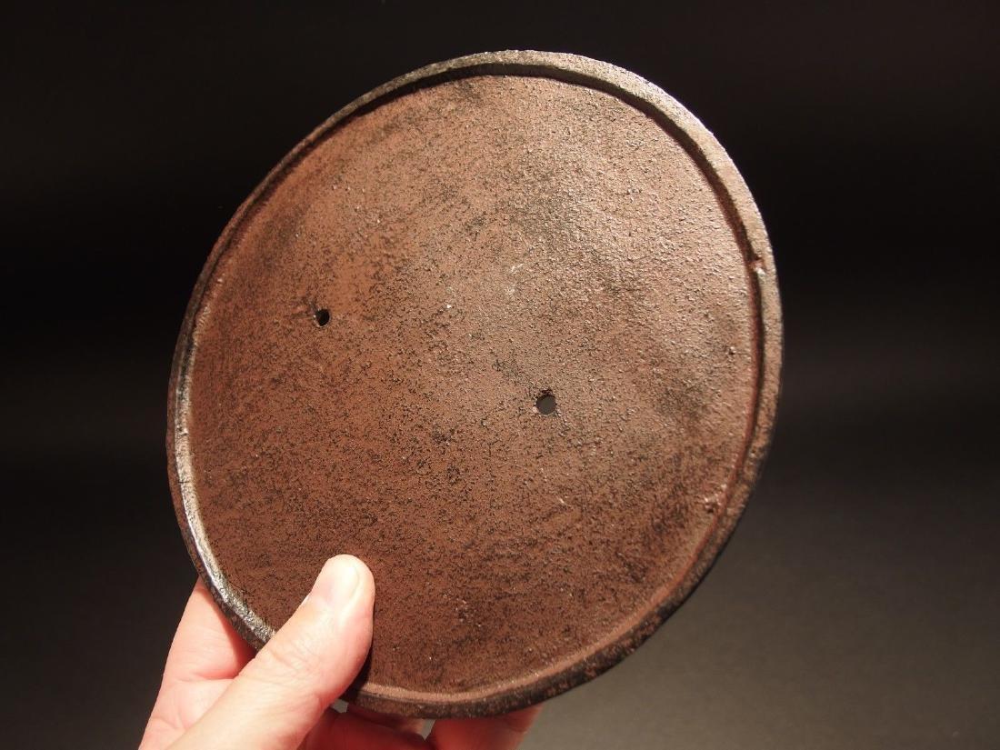 Civil War Confederate CSA Great Seal Cast Iron Plaque - 4