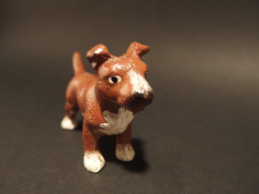 Miniature Cast Iron Pit Bull Dog - 2