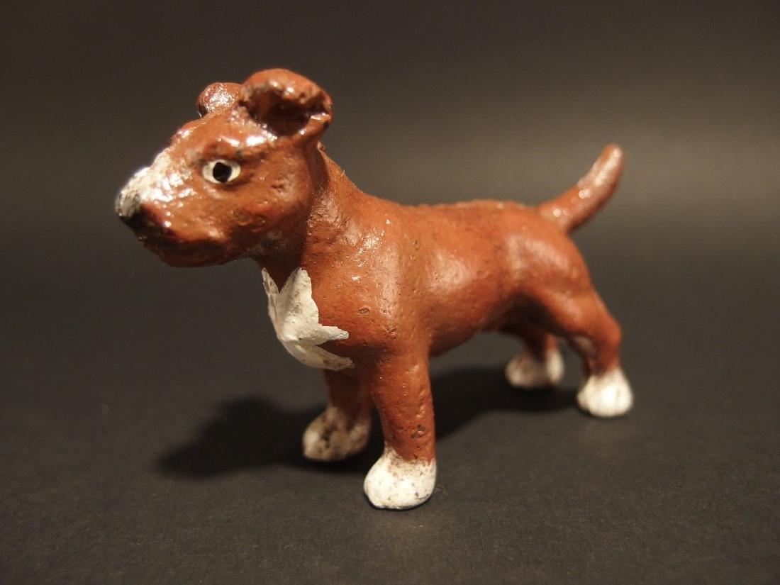 Miniature Cast Iron Pit Bull Dog - 3