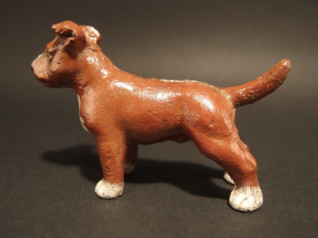 Miniature Cast Iron Pit Bull Dog - 4