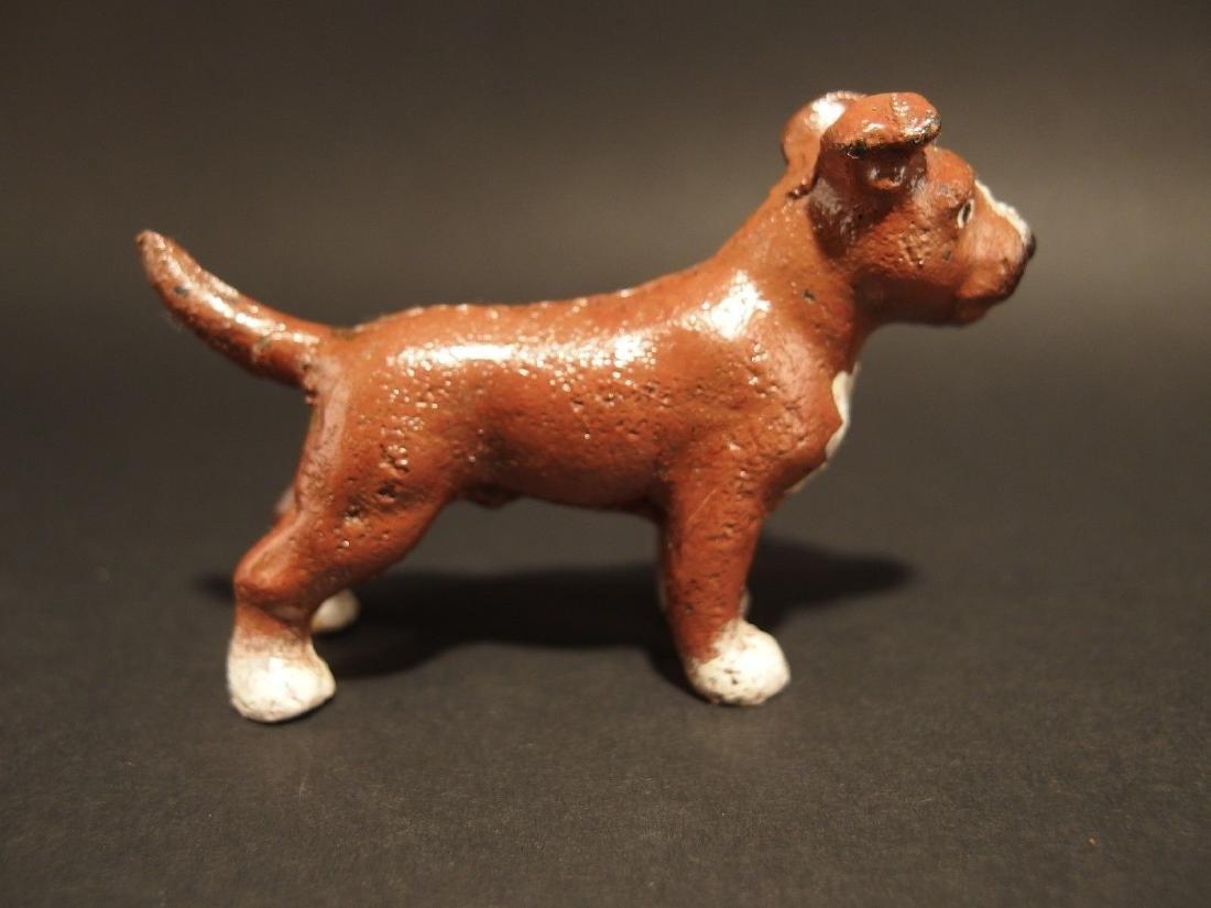 Miniature Cast Iron Pit Bull Dog - 6