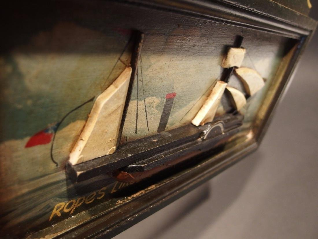 Wood English Pub Ship Stores 1851 Sailor Trade Sign - 3