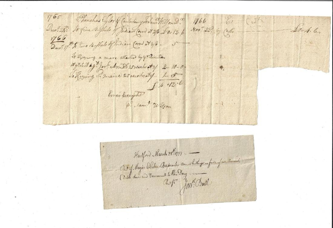 Colonial American Documents Indian Corn