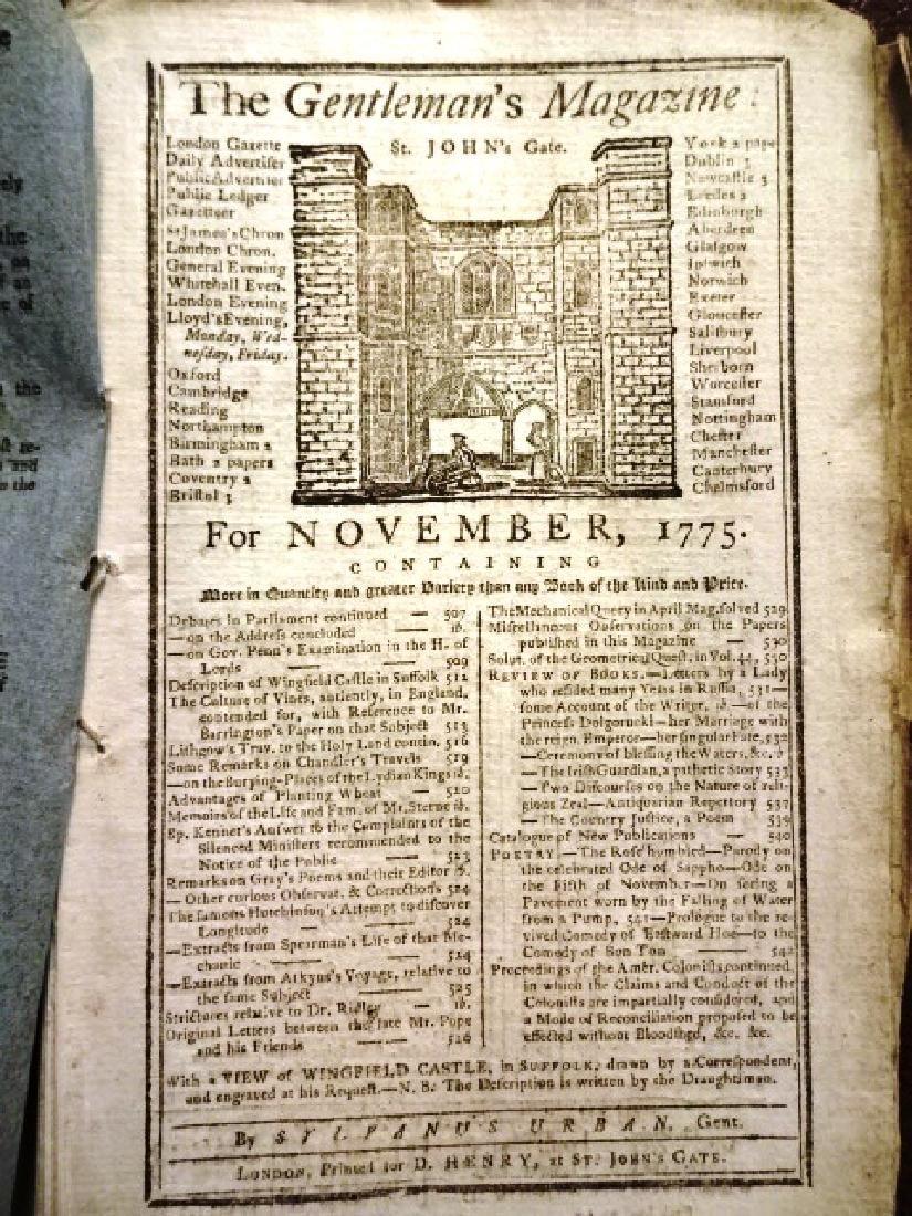 1775 Magazine American Colonies Revolution - 2