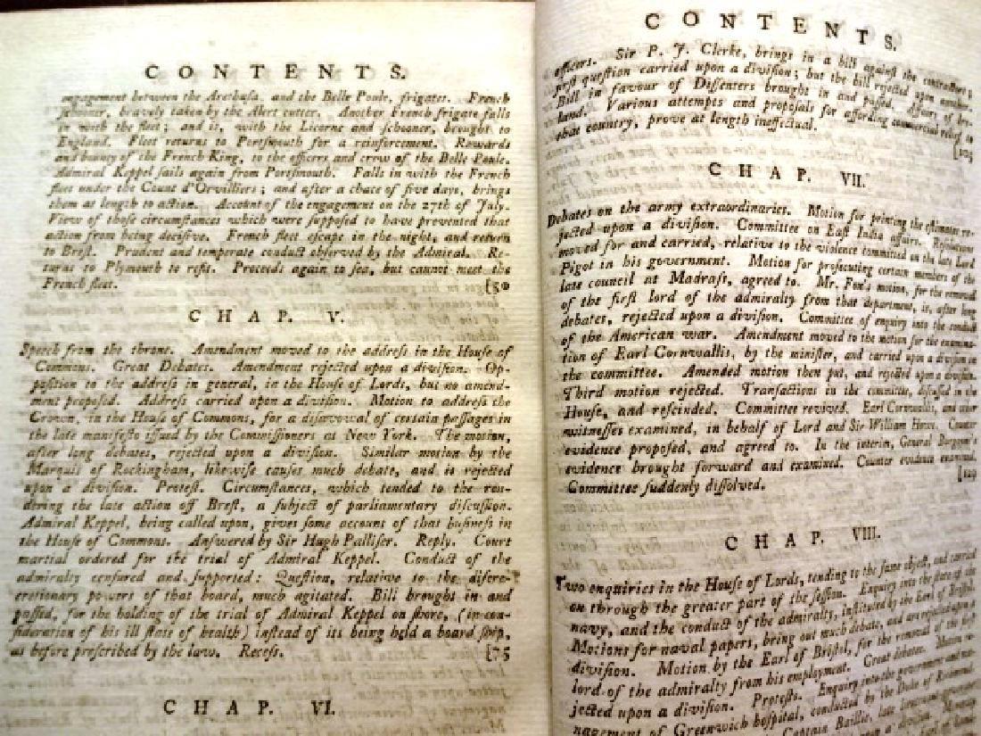 1779 Annual Register Revolutionary War Benjamin - 3