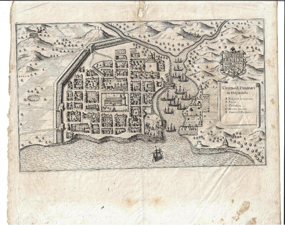 1650 Engraving of Dominici in Hispanola