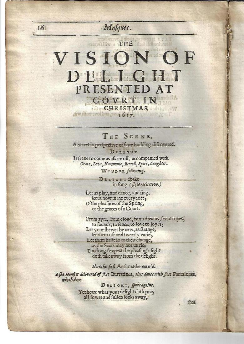 1650 Masques of Ben Jonson - 2