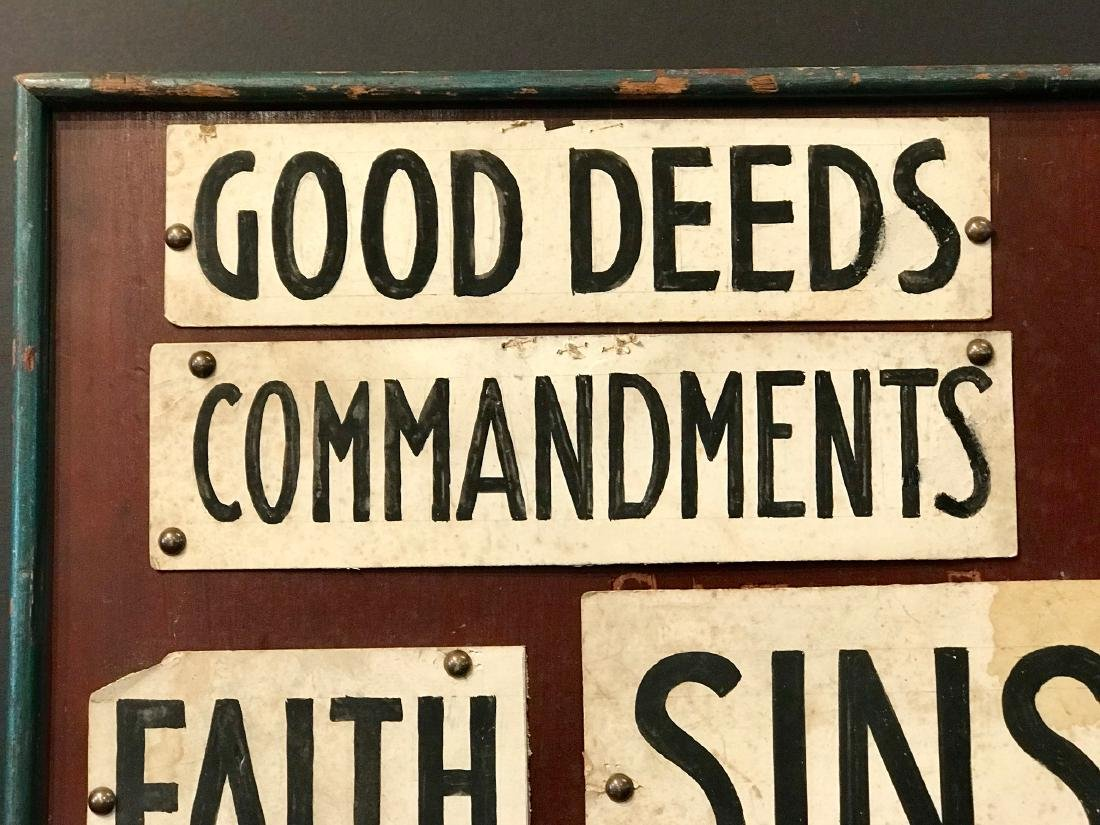 C. 1890 Good Deeds….. Sins Fraternal Order Ritual - 3