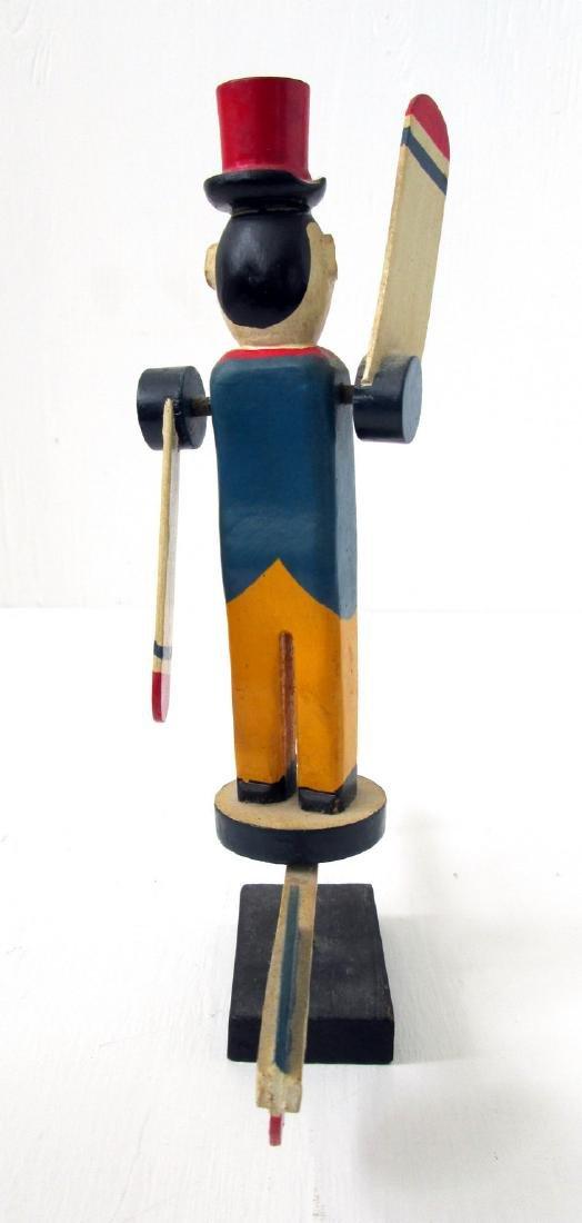 Vintage Miniature Circus Ringmaster Whirligig - 5