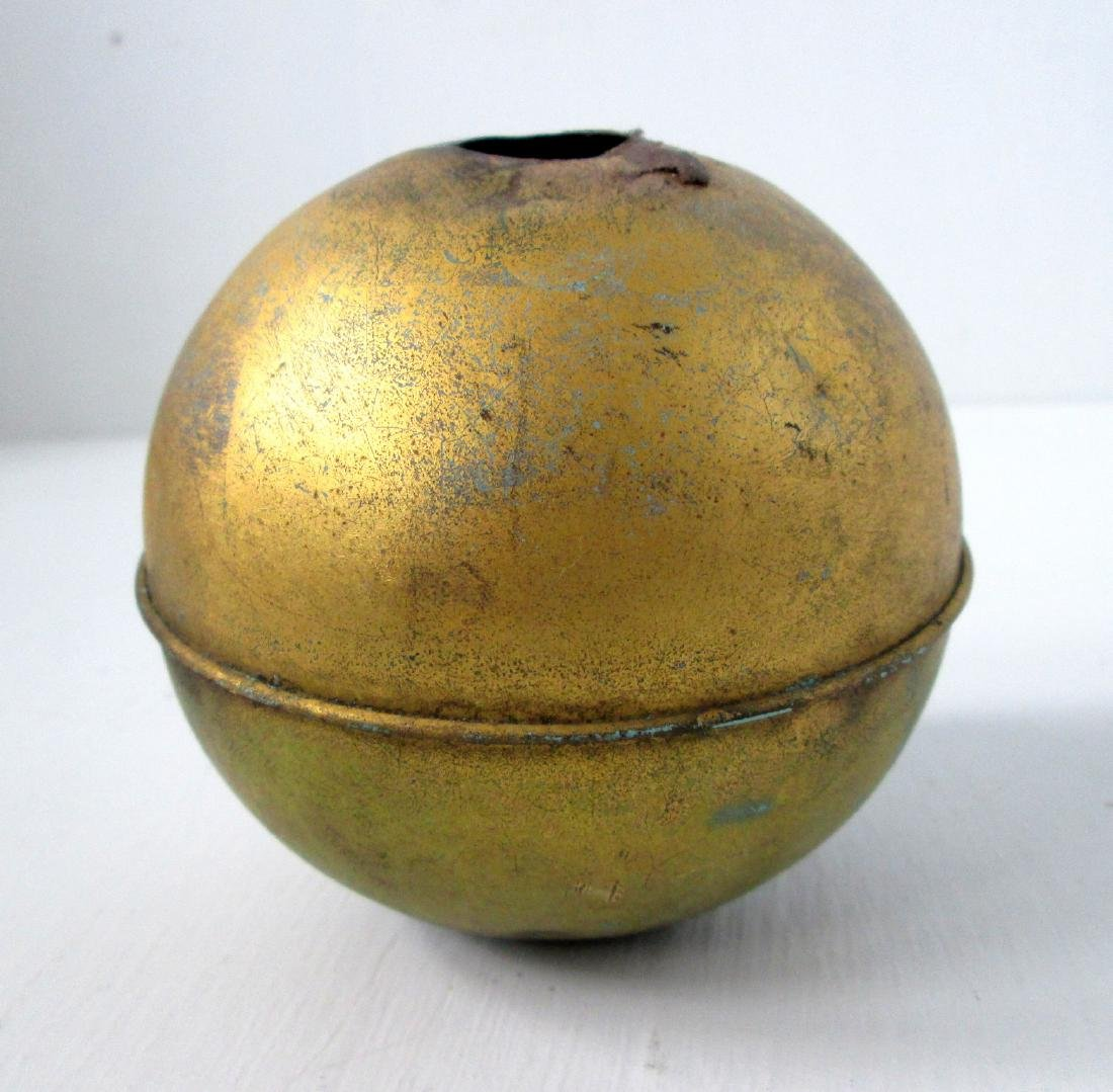 Early Gilt Weathervane Ball - 2