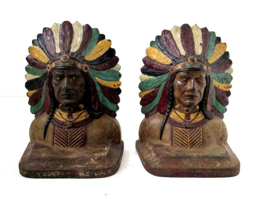 Early Native American Bookends