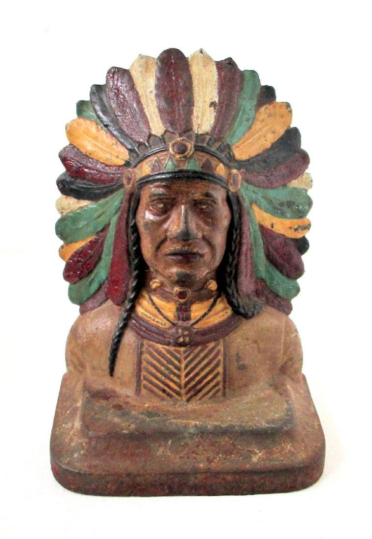 Early Native American Bookends - 4