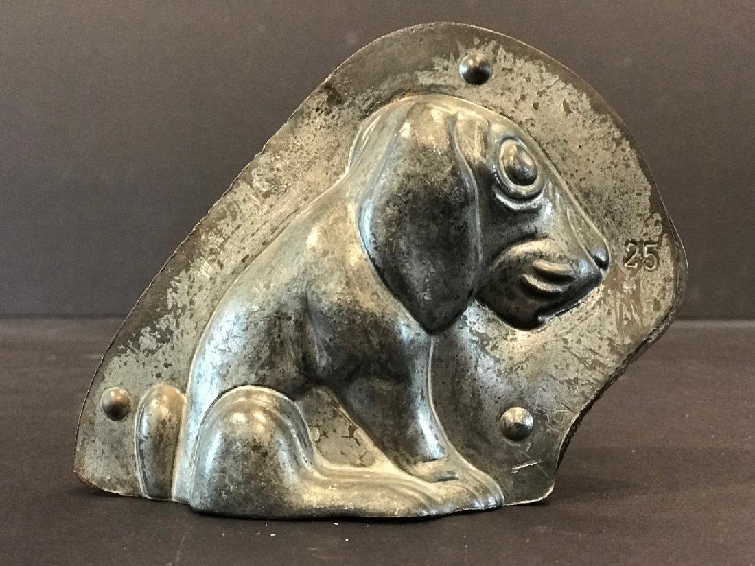 Early 20th Century Dog Chocolate Mold - 2