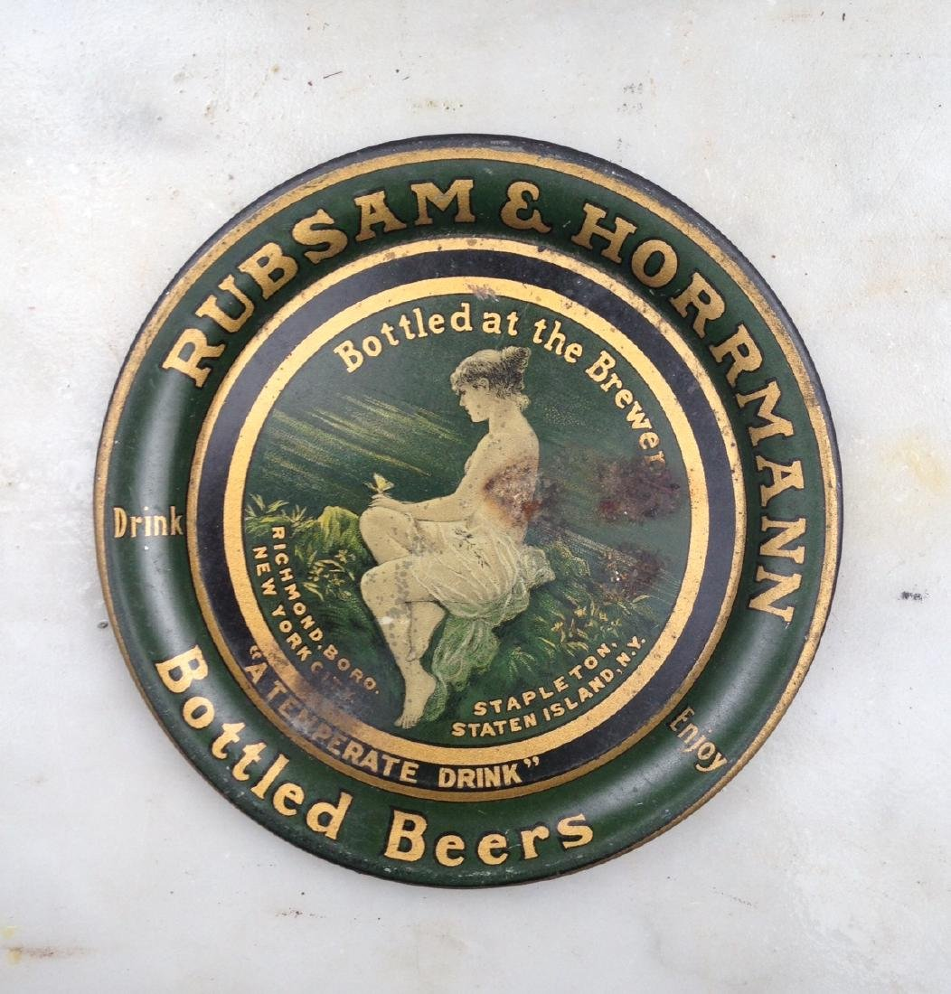 C1900 Rubsam and Horrman Beer Tip Tray