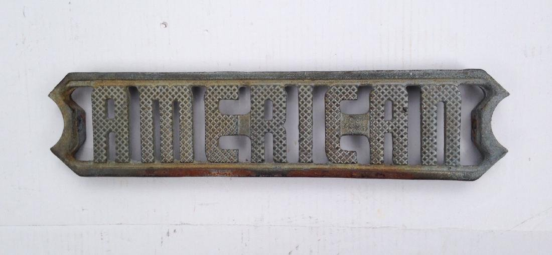 Early 20th Century Cast Iron Industrial Ladder Step