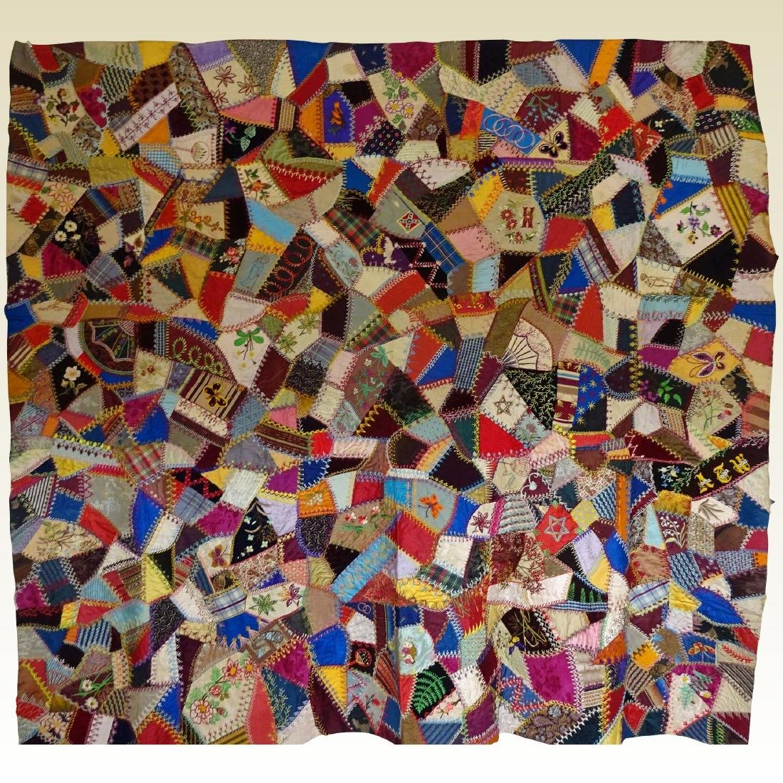Crazy Quilt 1000's Pcs Almost Perfect Foundation Pcd
