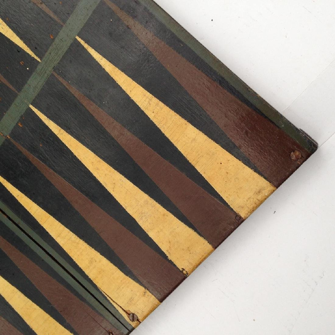 Late 19th Century All Original 4 Color Pine Gameboard - 3