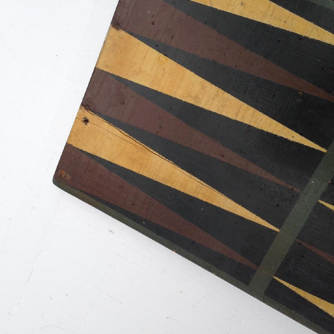 Late 19th Century All Original 4 Color Pine Gameboard - 4