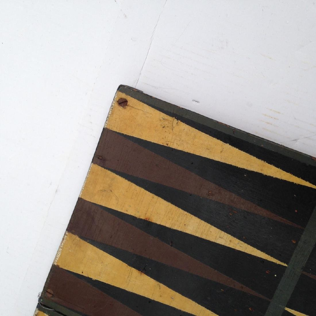 Late 19th Century All Original 4 Color Pine Gameboard - 6