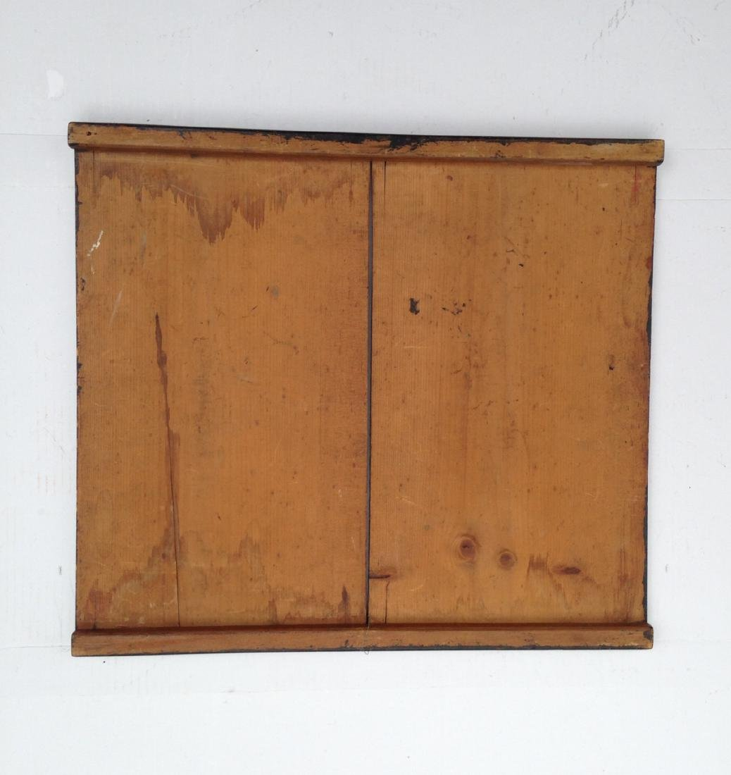Late 19th Century All Original 4 Color Pine Gameboard - 8