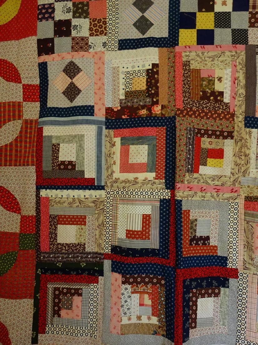 1860 Quilt Top Sampler Charming Confusion - 3
