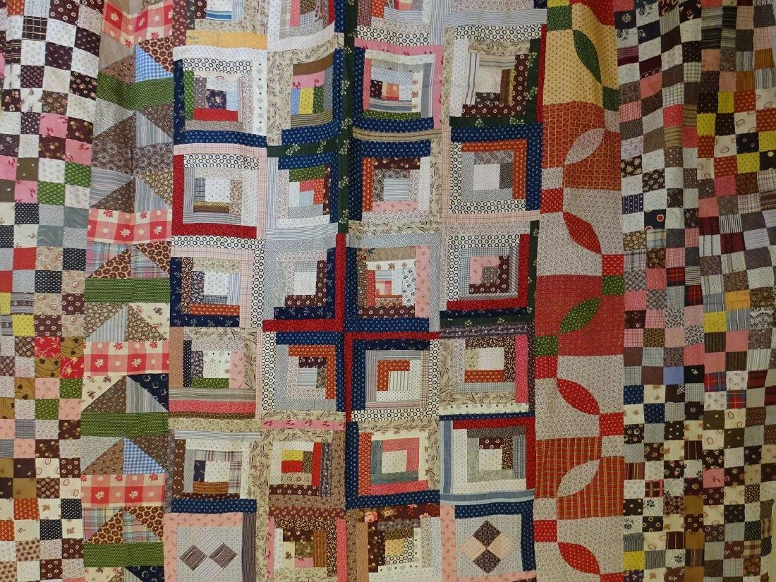 1860 Quilt Top Sampler Charming Confusion - 4