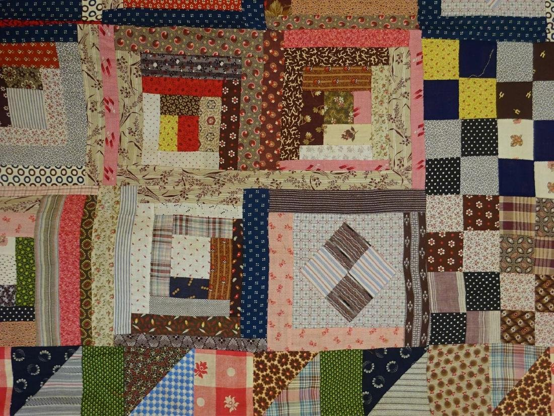 1860 Quilt Top Sampler Charming Confusion - 8