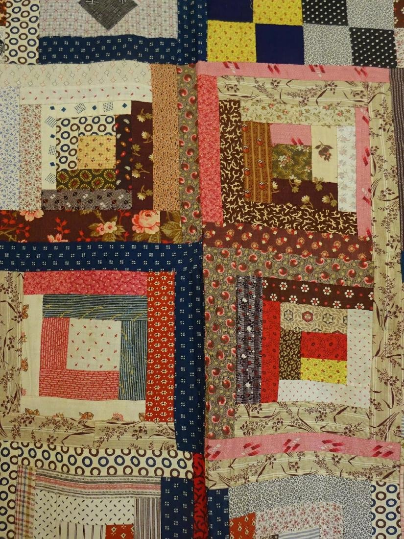 1860 Quilt Top Sampler Charming Confusion - 9