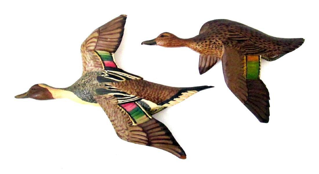 Carl Malstom Duck Plaques