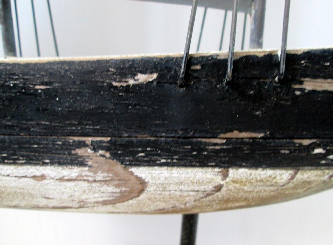 C 1920-40 Schooner Weathervane - 5