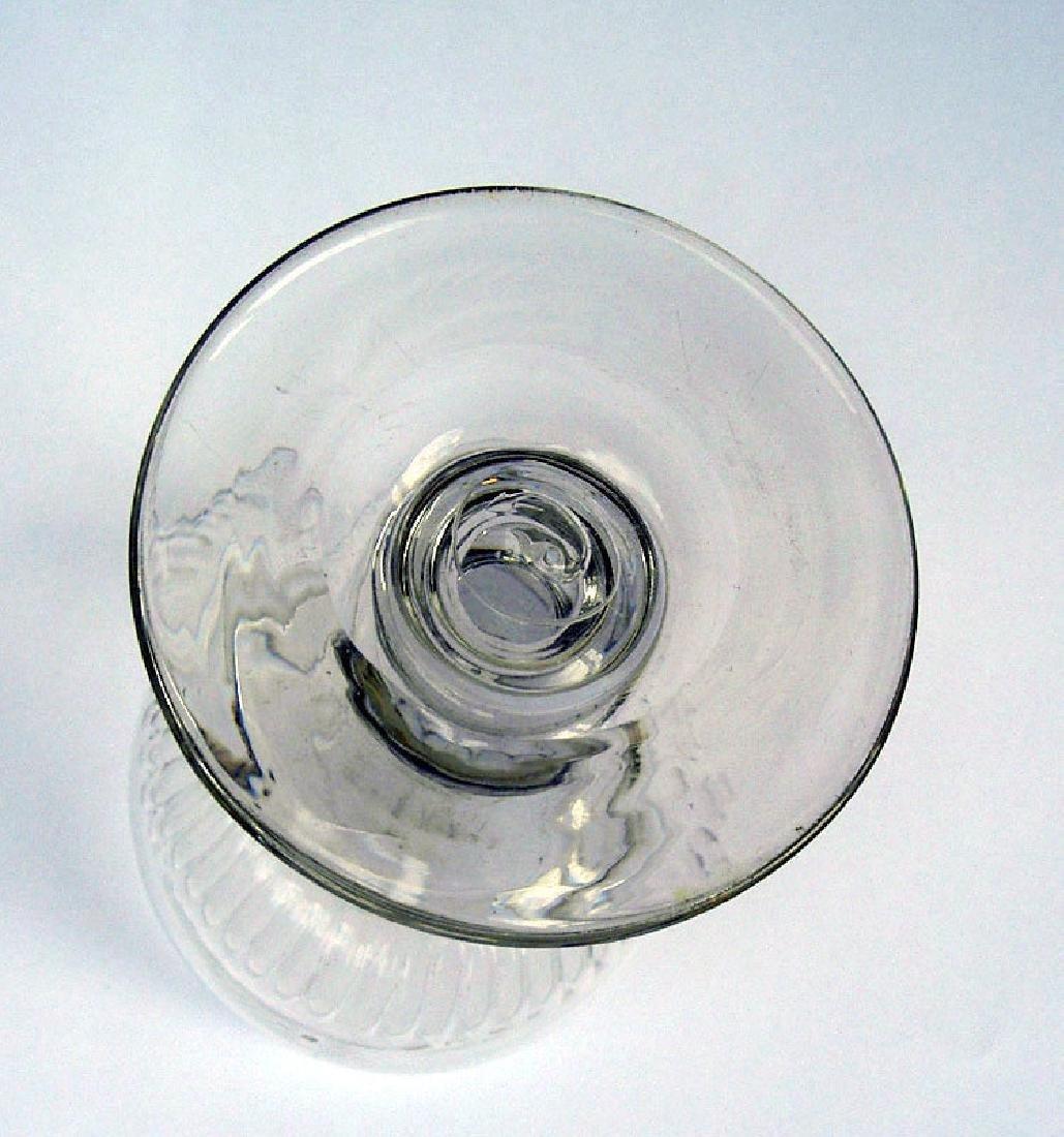 Six English wine glasses, Georgian - 3