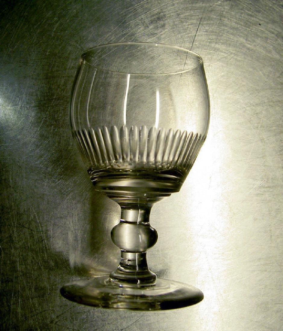 Six English wine glasses, Georgian - 4