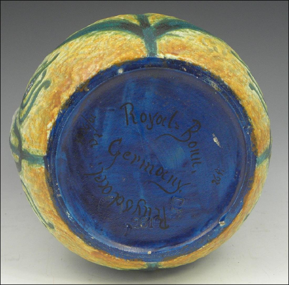 Royal Bonn Ruysdael Jugendstil Art Pottery - 3