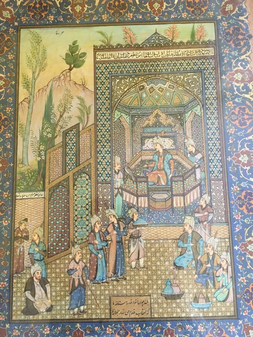 Antique Vintage Persian Painting - 2