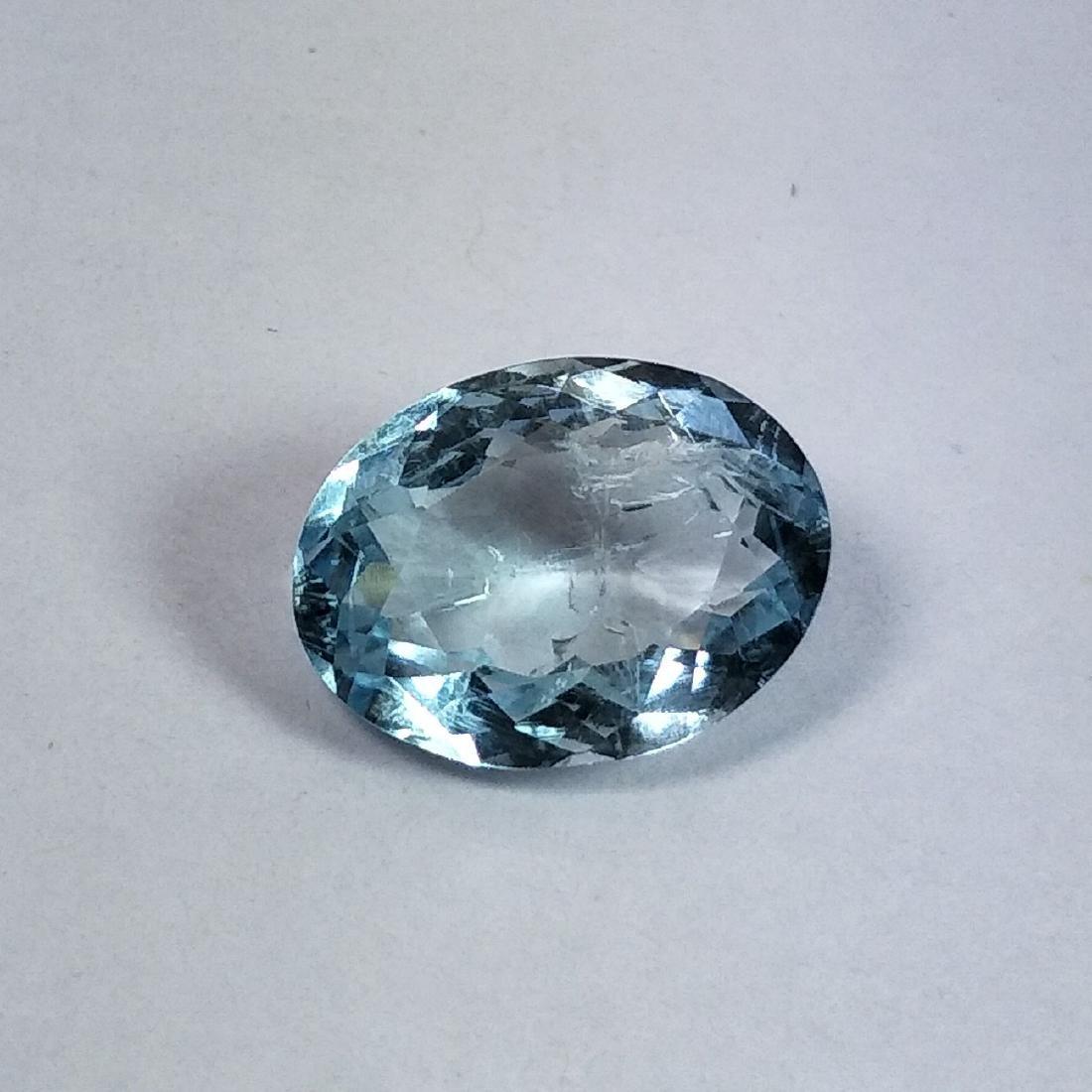 Aquamarine - 4.53 ct - 2