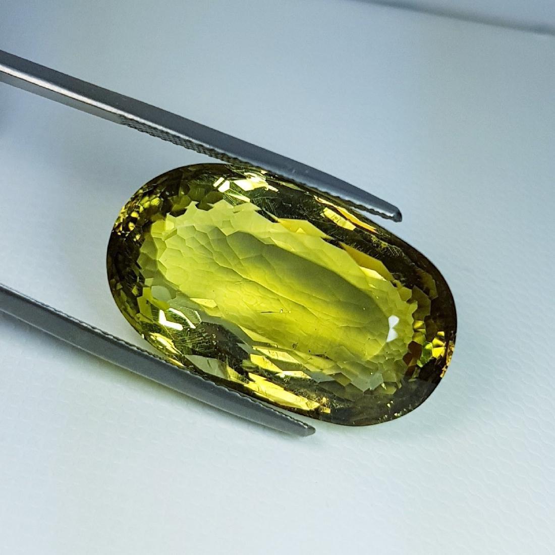 Green Gold Quartz - 29.15 ct - 2