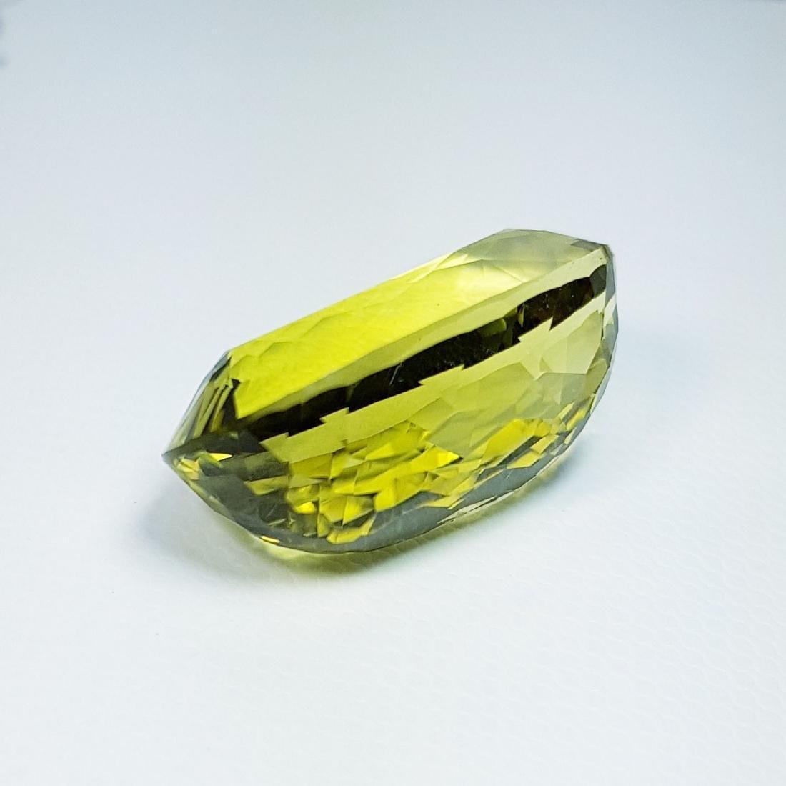 Green Gold Quartz - 29.15 ct - 4