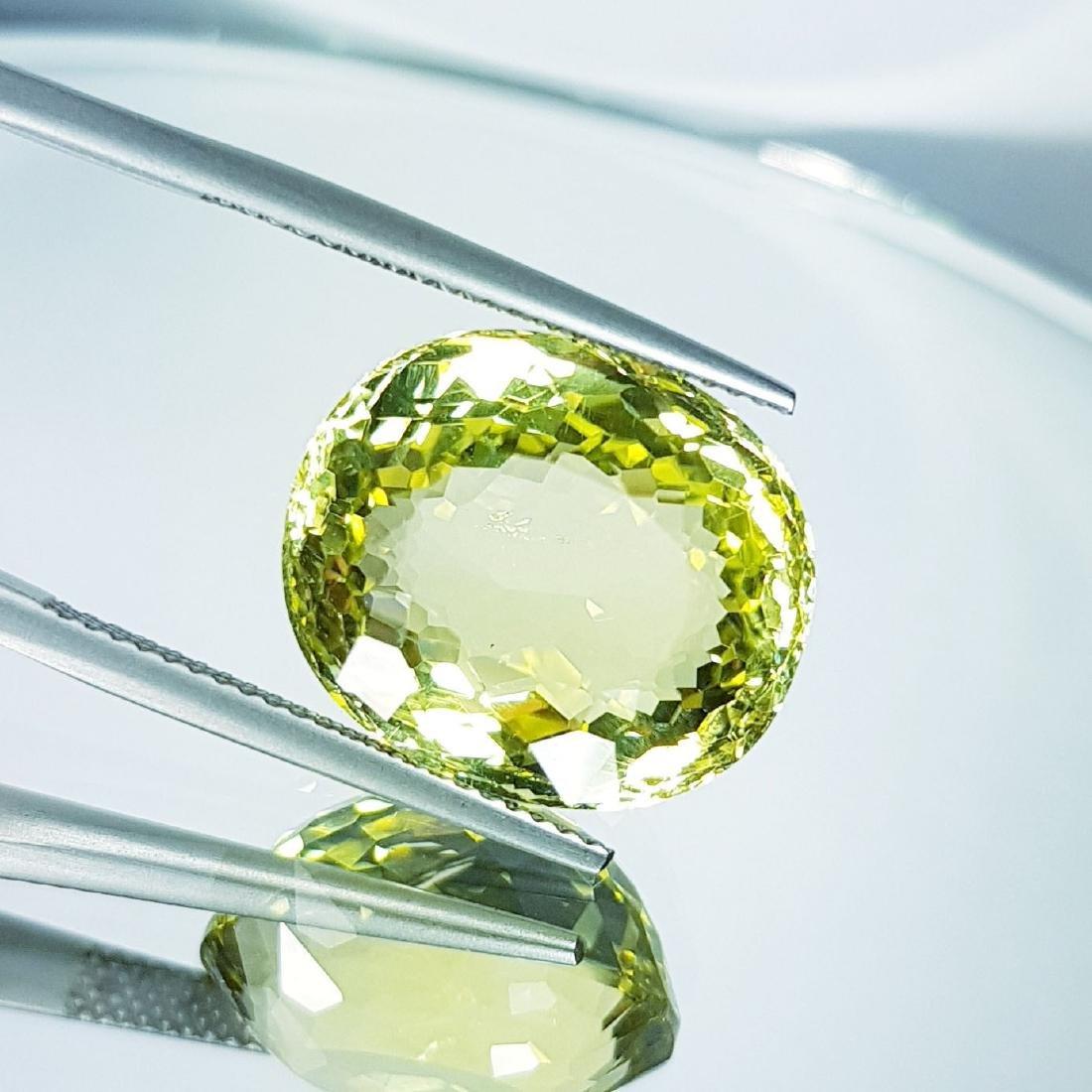 Green Gold Quartz - 16.24 ct - 2