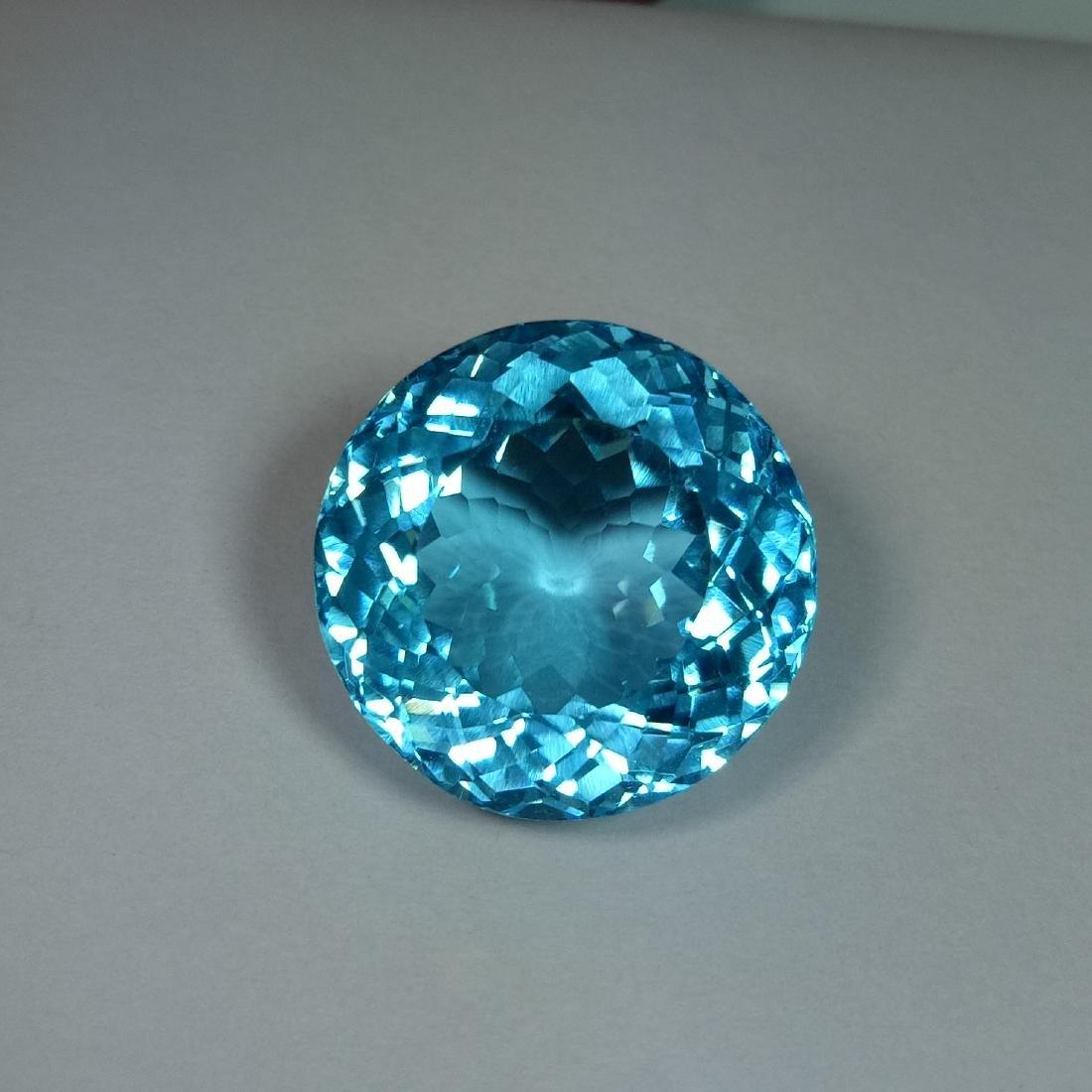 Swiss Blue Topaz - 35.30 ct - 2