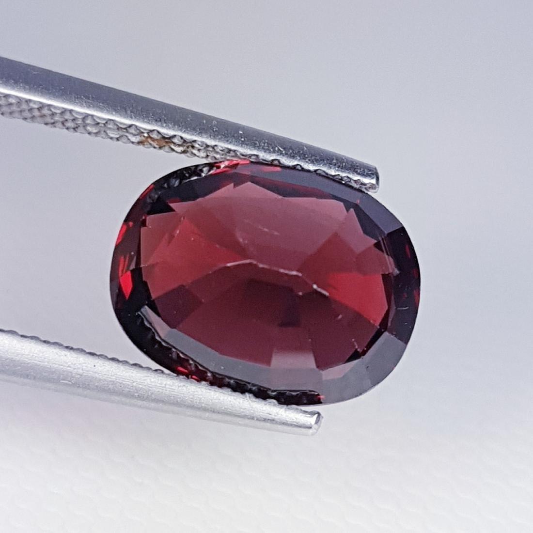 Rhodolite - 5.51 ct - 3