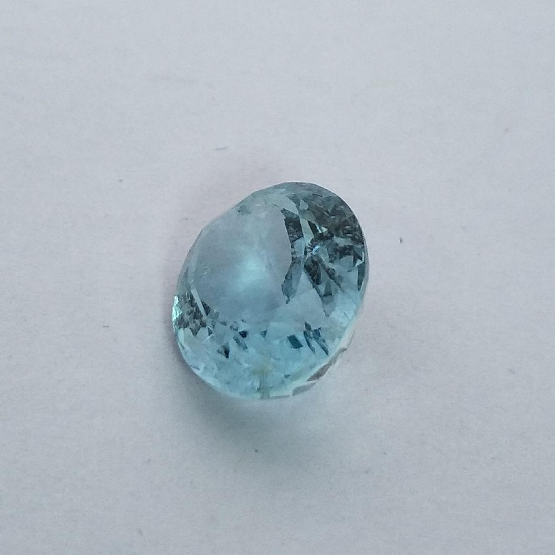 Aquamarine - 3.85 ct - 3