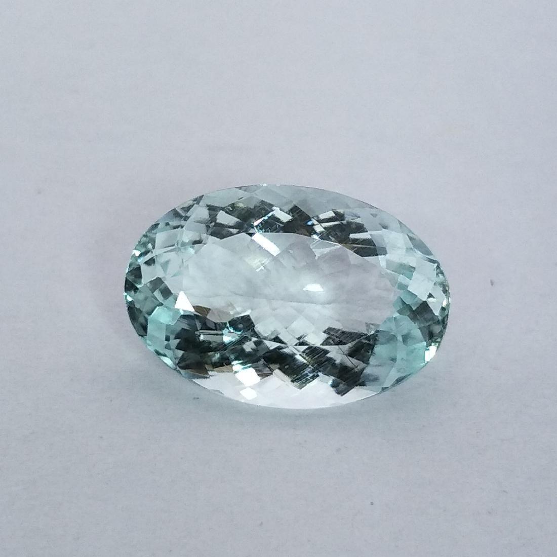 Aquamarine - 3.87 ct - 2
